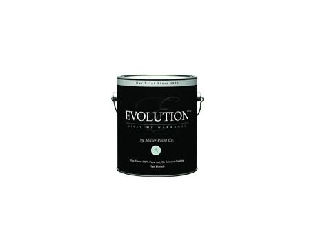 Acrylic exterior coating evolution for Miller exterior paint
