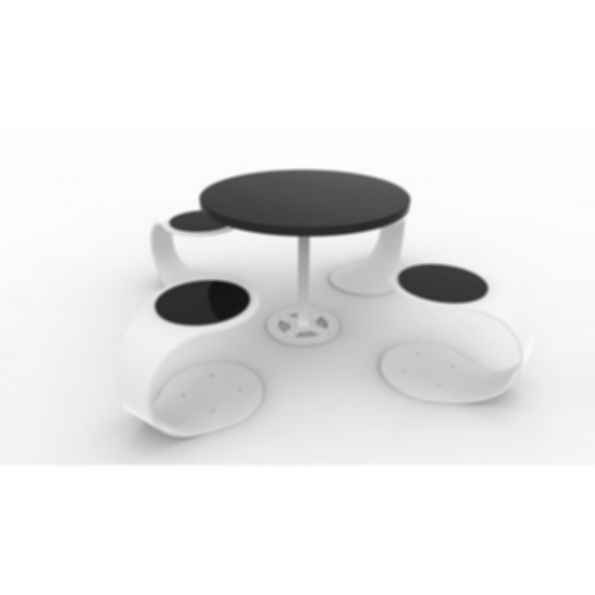 Spring Seats and Table