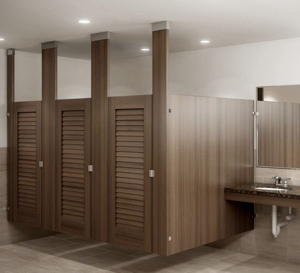 Louvered doors for Louvered bathroom stall doors