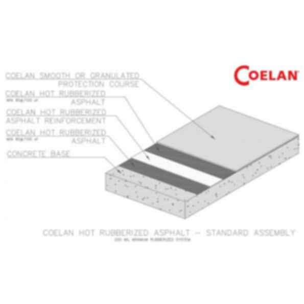 COELAN - Hot Rubberized Asphalt Systems