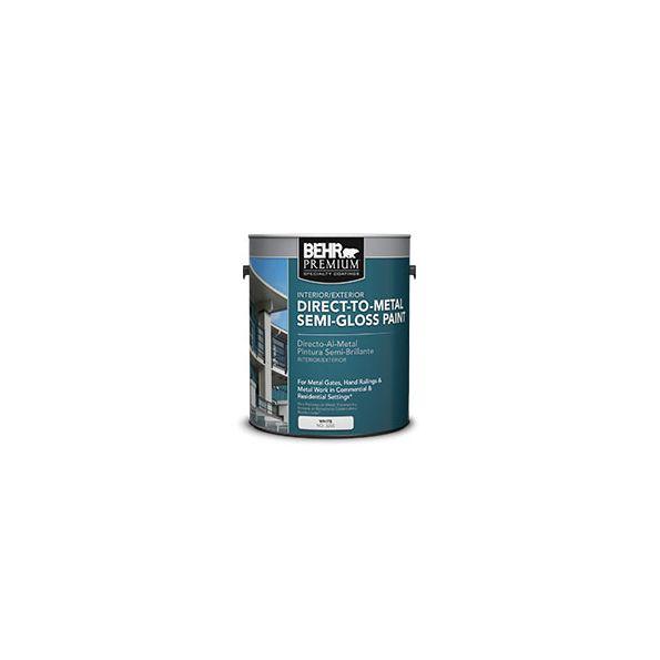 Behr Premium Direct To Metal Semi Gloss Paint No 3200 Modlar Com