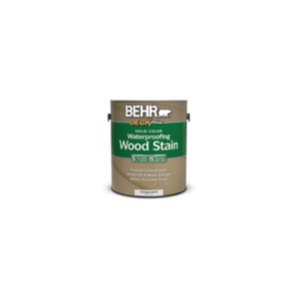 BEHR® Solid Color Waterproofing Wood Stain No. 211