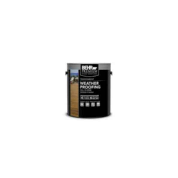 BEHR PREMIUM® Transparent Weatherproofing All-In-One Wood Finish No. 500