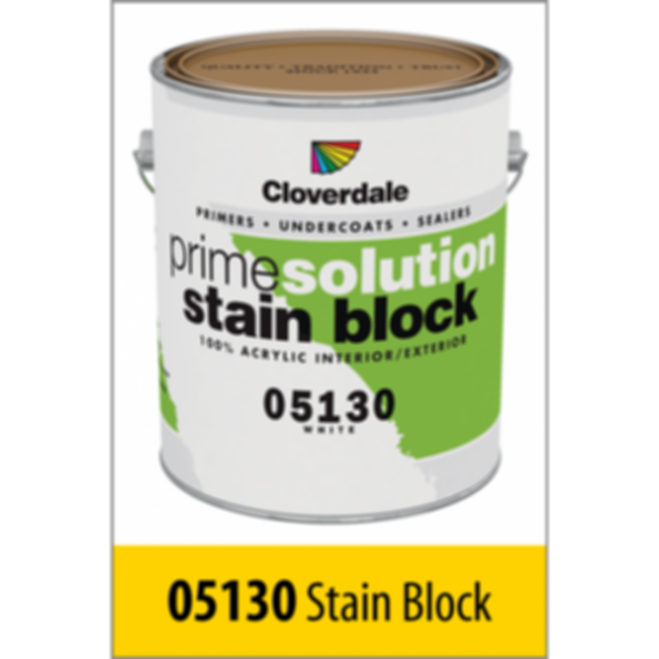 Interior/Exterior Acrylic Latex Stain Blocking Primer