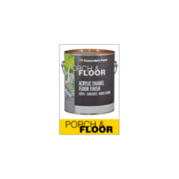 Floor Finishes - Porch & Floor