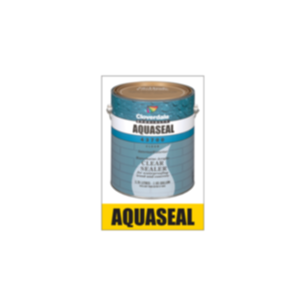 Clear Sealers - AquaSeal Waterborne Clear Acrylic Sealer