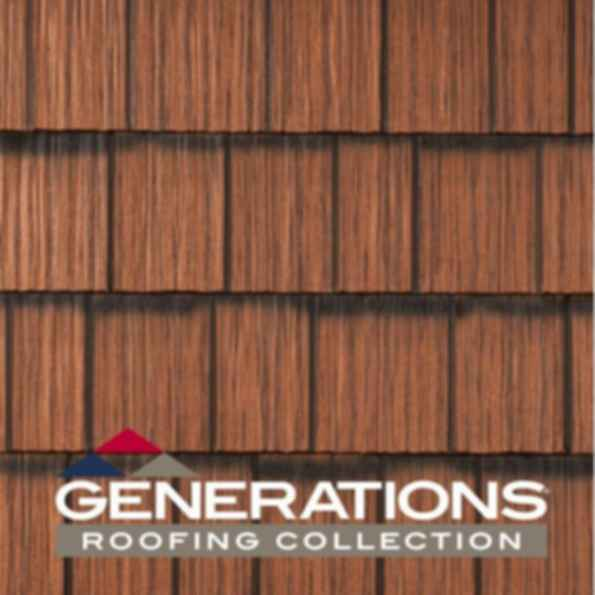 Permanent Metal Shake Roofing - Generations®