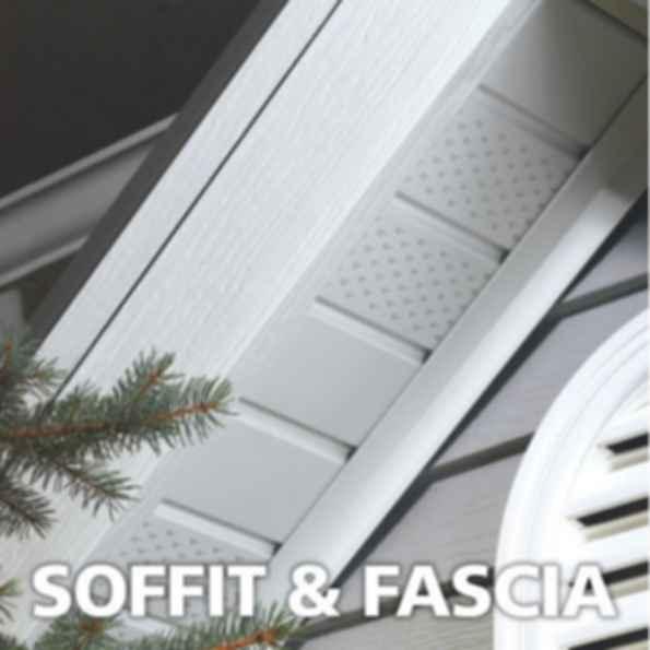 Aluminum Roof Soffit and Fascia