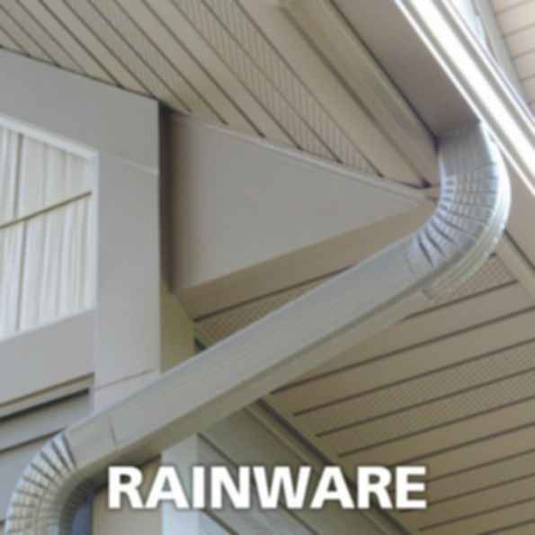 Metal Gutter and Downspout Systems - RAINWARE™