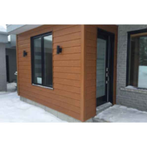 "Single 8"" Steel Siding"