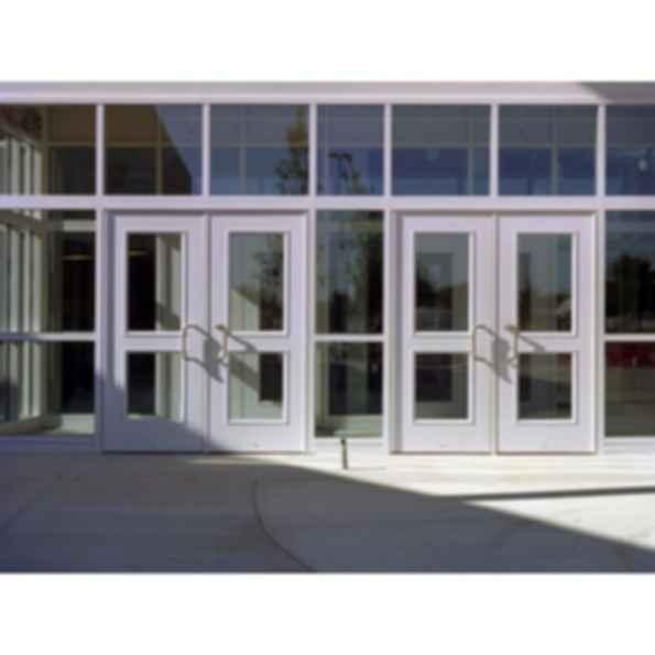 FRP - Sandstone-Textured Aluminum Hybrid Door