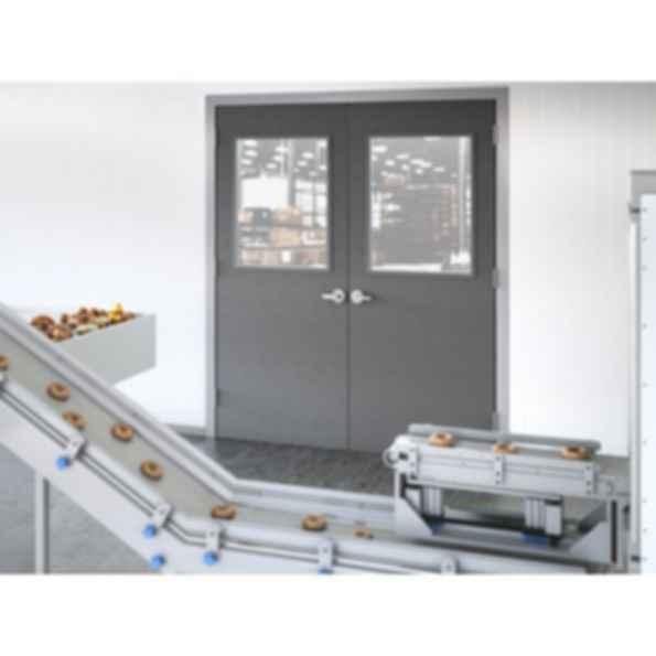 All Fiberglass Composite Pebble Grain Door