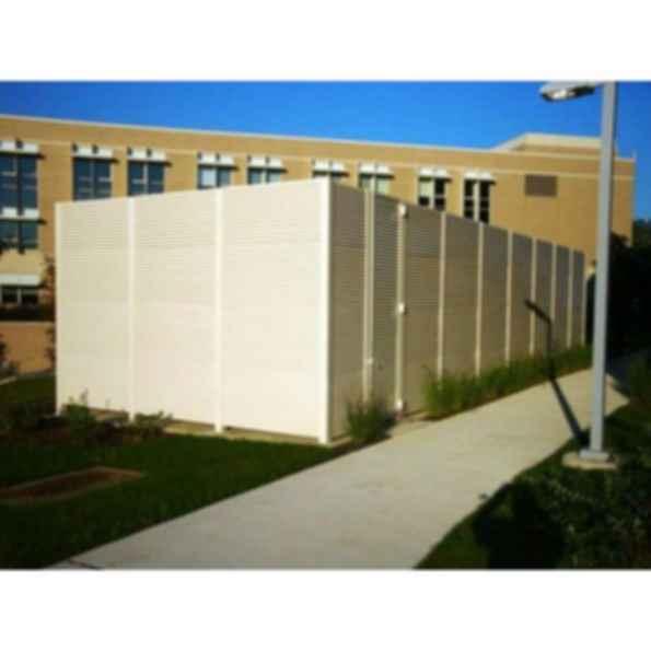 Aluminum Fixed Louver Fence