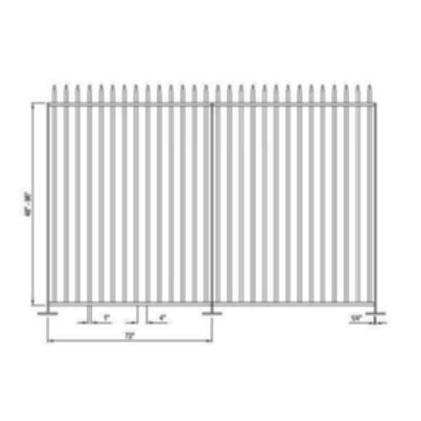 Falcon Aluminum Picket Fence System