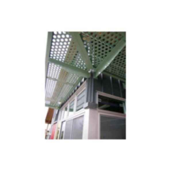 Perforated Metal Sun Shades