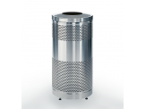 The Classic 25 and Classic 55 Trash Receptacle