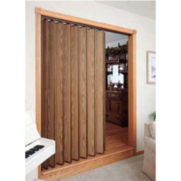 Series 220 residential commercial accordion doors for Commercial accordion doors interior