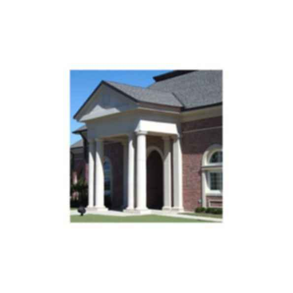 MeltonStone™ Cast Stone Columns and Column Covers