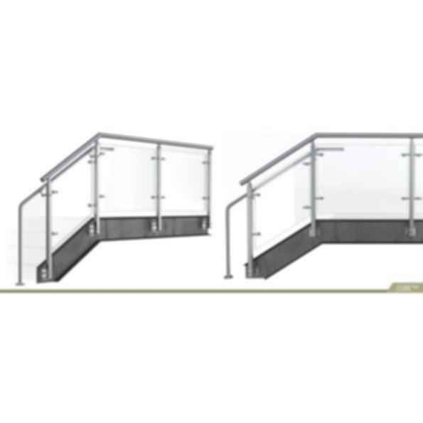 CUBE™ Glass Railing Systems