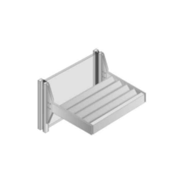 Versoleil™ SunShade - Outrigger System - for Storefront