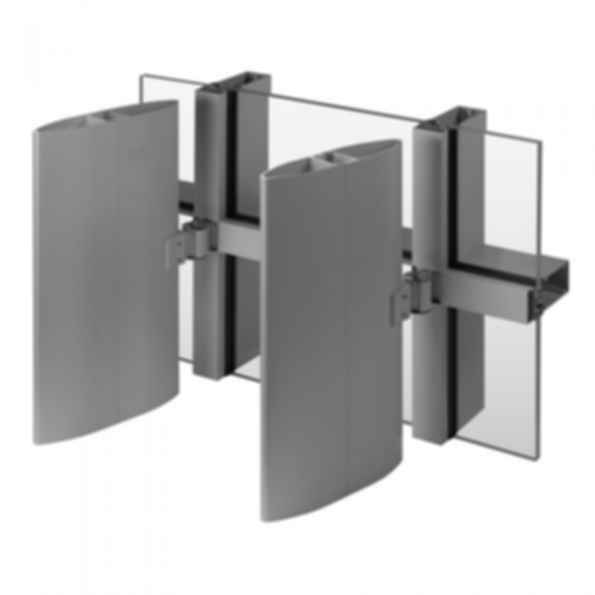 Versoleil™ SunShade - Single Blade System - for Curtain Wall