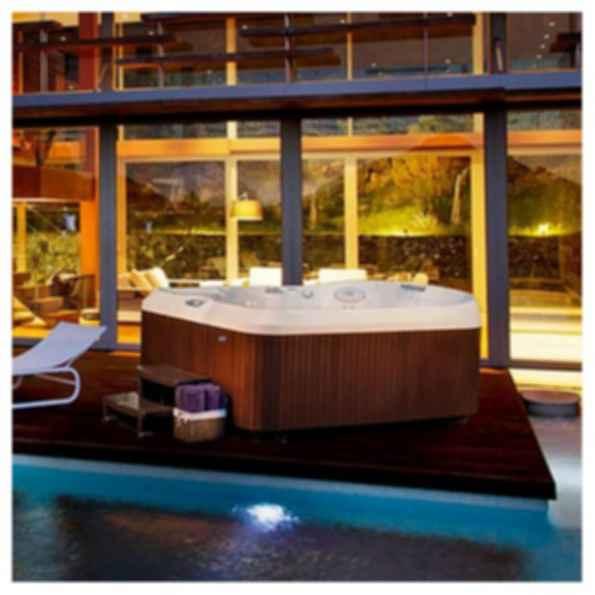 J-480™ Large Designer Hot Tub with Lounge Seat