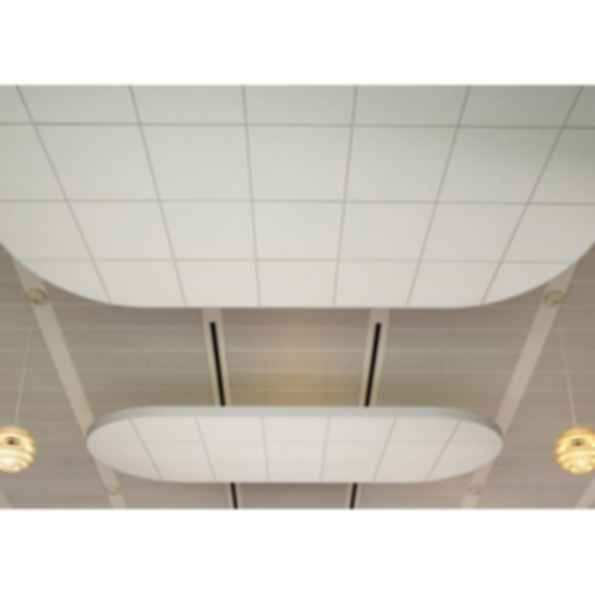 FORMATIONS Curves with OPTIMA Ceiling System