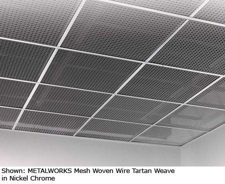 Metalworks Mesh Expanded Metal Ceiling Panels Modlar Com