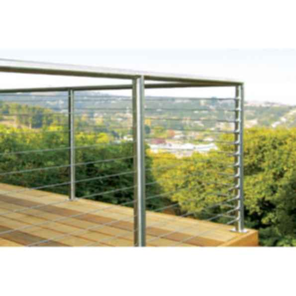SunRail™ Nautilus Stainless Steel Cable Railing