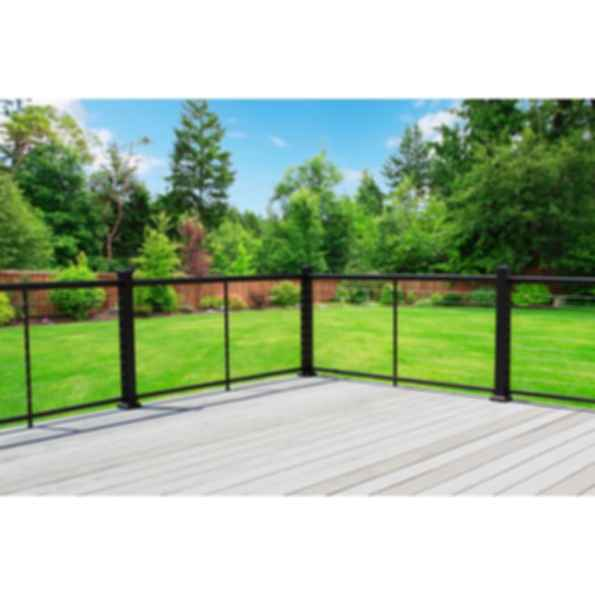 NOVA Cable Railing With Aluminum Posts