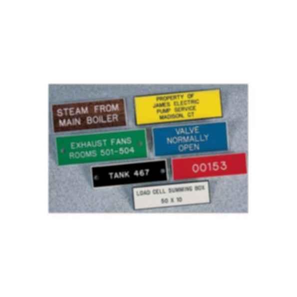 Custom Engraved Plastic Name Plates