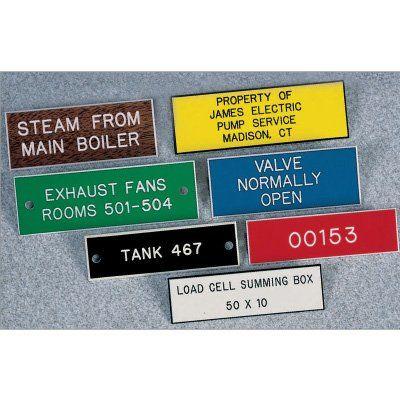 Custom Engraved Plastic Name Plates modlarcom