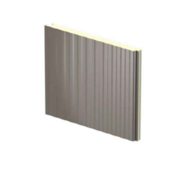 """TotalClad™ Deep Planked 42"""" Insulated Metal Wall Panels"""