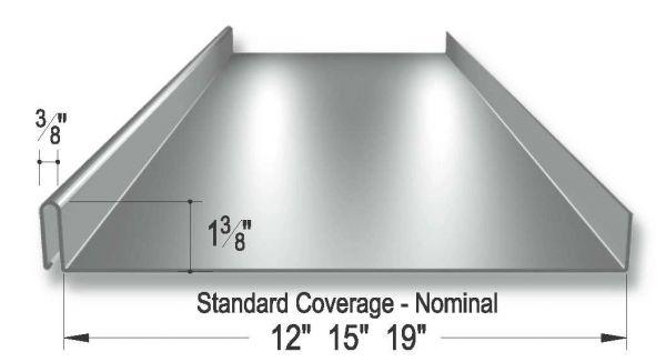 Classic Rib 305 Roof Panel Modlar Com