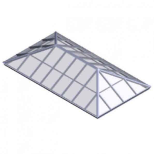 Extended Pyramid Skylighting System
