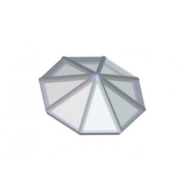 Octagonal Pyramid Skylighting System
