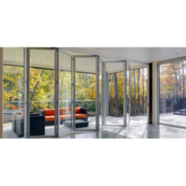 Aluminum Bifold Doors and Windows