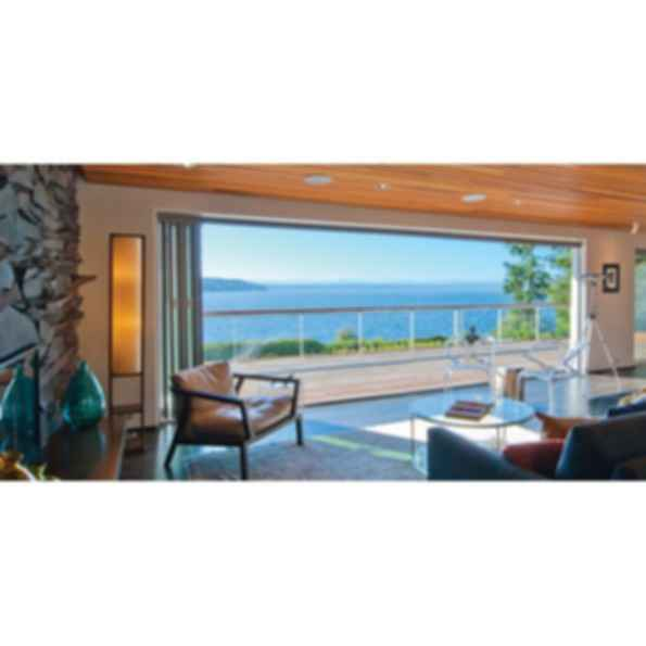 Aluminum Thermally Controlled Folding Door System