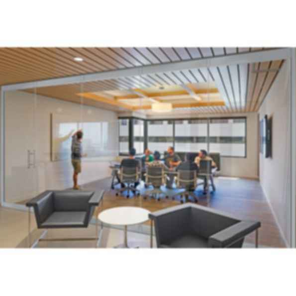 PrivaSEE™ Frameless Glass Wall