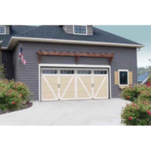 Courtyard collection 7565 series wind load garage doors for Wind code garage doors