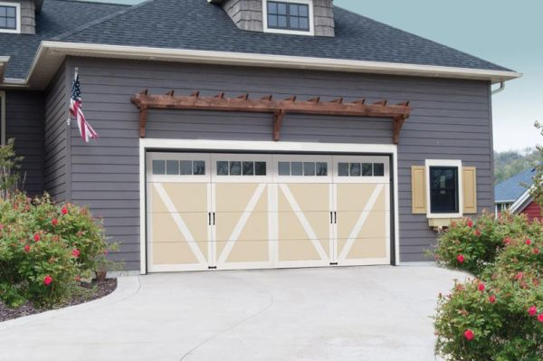 Courtyard Collection 7565 Series Wind Load Garage Doors