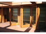 Slide/Fold Glass Door System