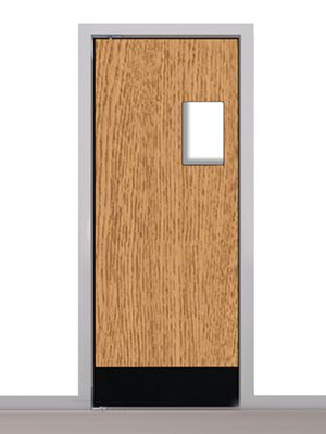Eng 1 traffic door - Eliason kitchen doors ...