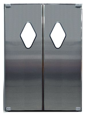 Dsp 3 Stainless Steel Traffic Door Modlar Com