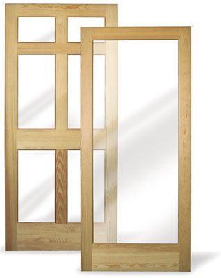 Fixed Storm Doors Modlar Com