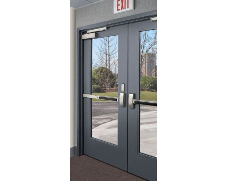 767 series stile and rail metal door for Door rails and stiles