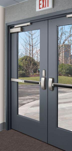 767 Series Stile And Rail Metal Door Modlar Com