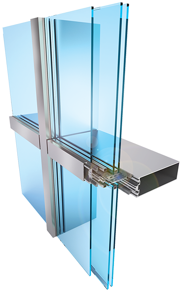 Ssg Glazing Colors : Reliance™ htc curtain wall system modlar