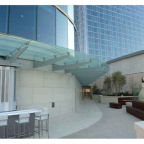 Laminated Pilkington Planar™ Structural Glass Canopies