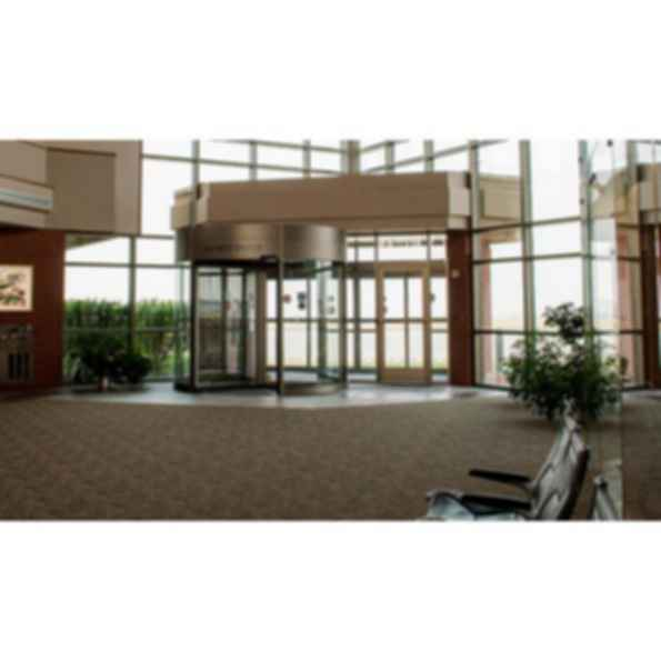 Tourlock 120S One-Way Automatic Revolving Door